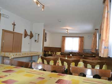 Ferienhaus Saas Grund: Speise- und Aufenthaltsraum