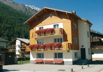 Ferienhaus in Saas Grund im hochalpinen Saastal
